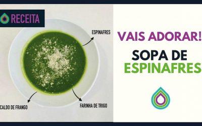 Receita | Sopa Espinafres | Vais Adorar!