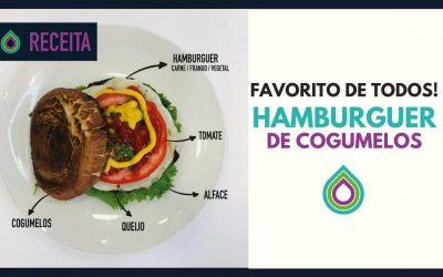 Receita | Hamburger de Cogumelos | DELICIOSO!