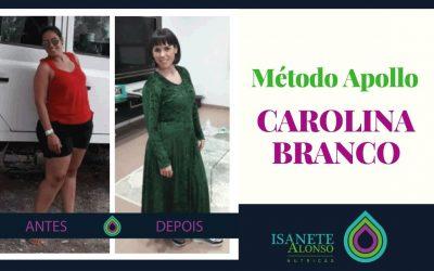 Testemunho de Carolina Branco que perdeu 20kg sem cirurgía pelo Método Apollo, com o Dr Lopez-Nava.